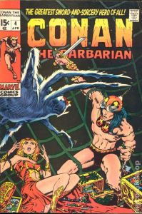 Conan the Barbarian #4 (The Tower of the Elephant)