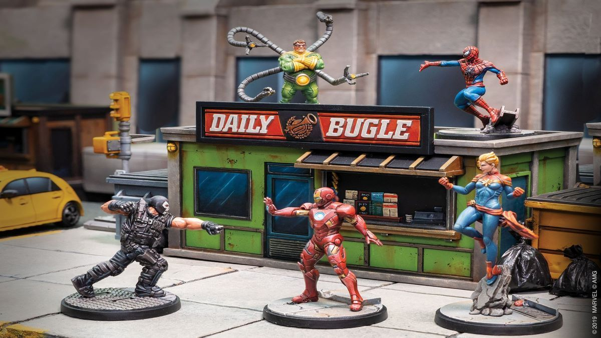 All the Marvel Board Games We'll Get Our Nerdy Hands on this