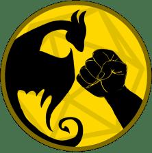 dragon punch squad podcast logo