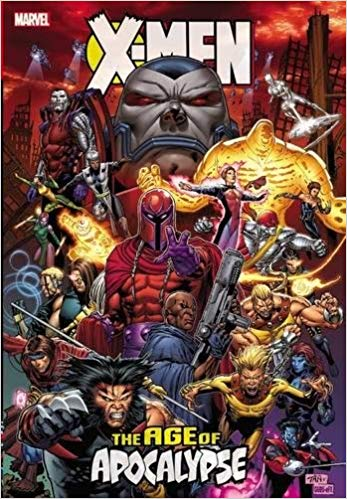 age of apocalypse comic cover
