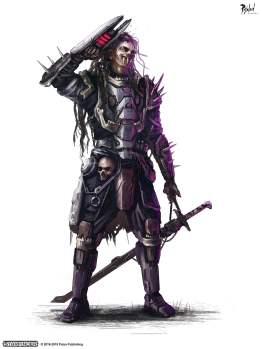 Pixoloid Studios Starfinder Soldier