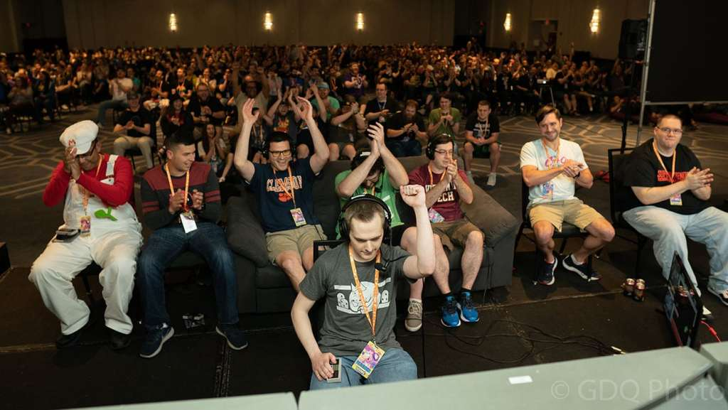 GDQ is a convention all about watching others play video games.