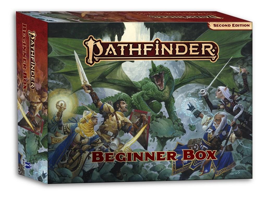 pathfinder 2nd edition beginner box