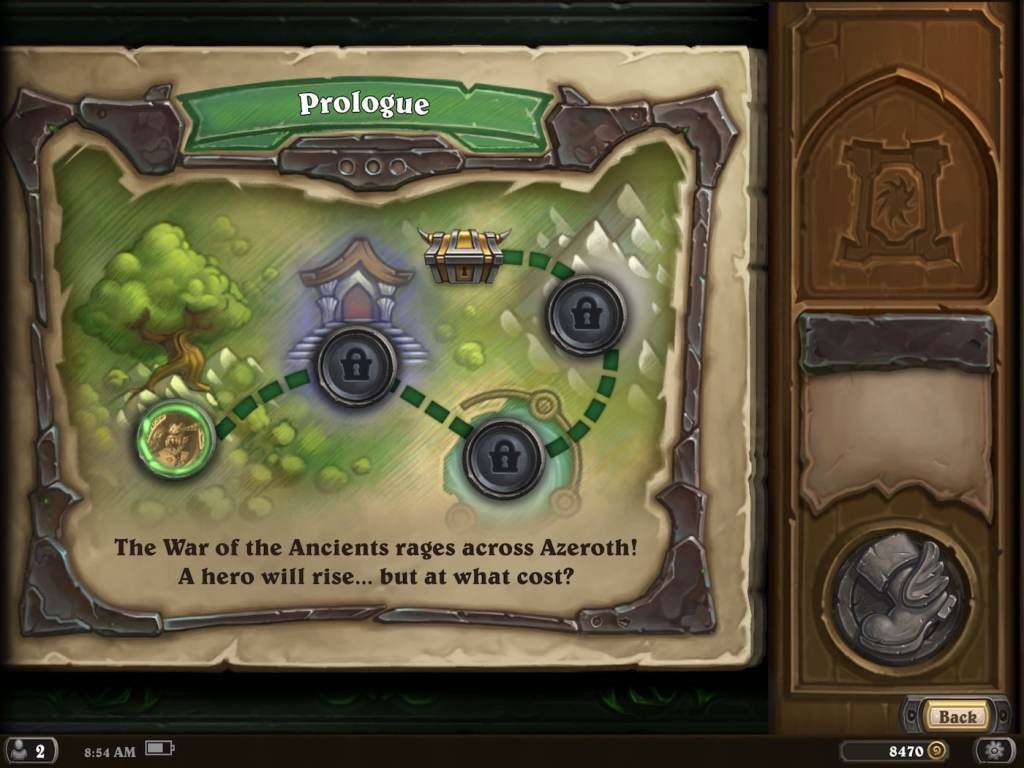 hearthstone adventure mode