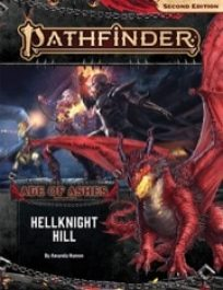 pathfinder 2nd edition adventure path Hellknight Hill cover