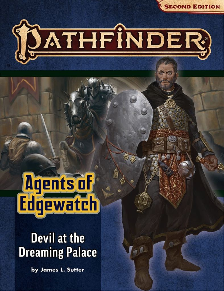 pathfinder 2nd edition adventure path Agents of Edgewatch cover