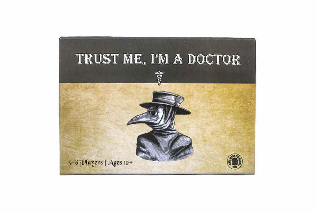 trust me I'm a doctor game box cover