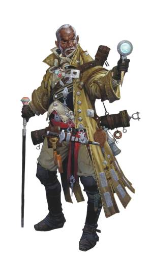 Pathfinder Second Edition Iconic Investigator, Quinn