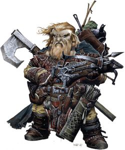 Dwarf, Harsk by Paizo