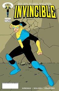 invincible #1 cover