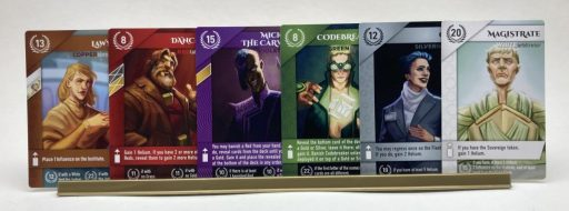Red Rising Board Game Cards