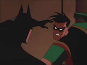 Robin_and_Batman_Fight