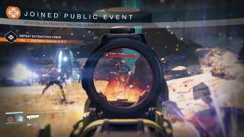 public event gameplay
