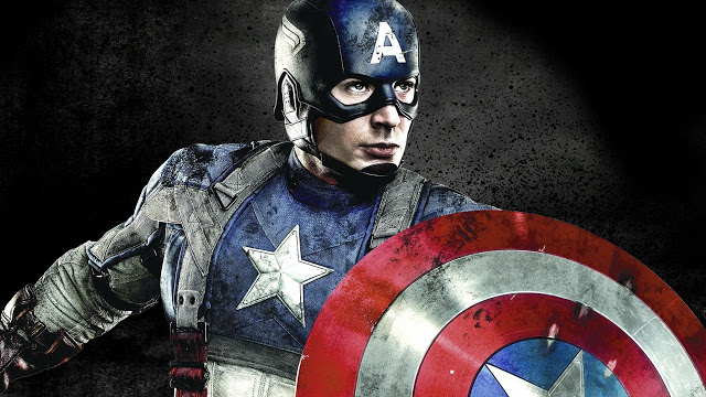 captain america pose