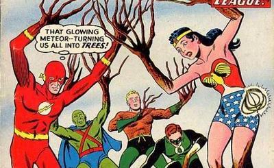 Secret Origins of the Justice League.