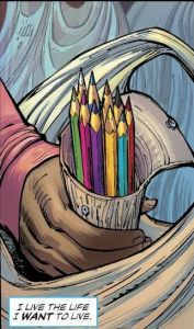 Colored pencils good for arts and craft and murder.