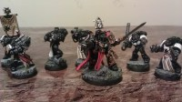 Black Templars Marshal Onshava with Squad