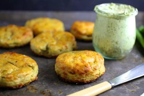 Ramp and Cheddar Biscuits