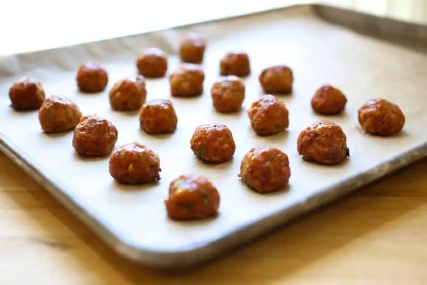 Cocktail meatballs