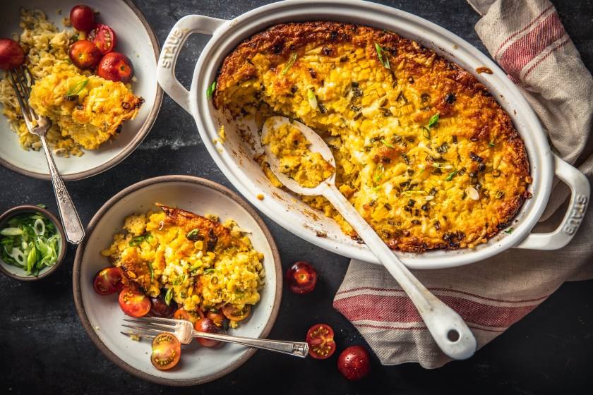Cheddar Corn Pudding