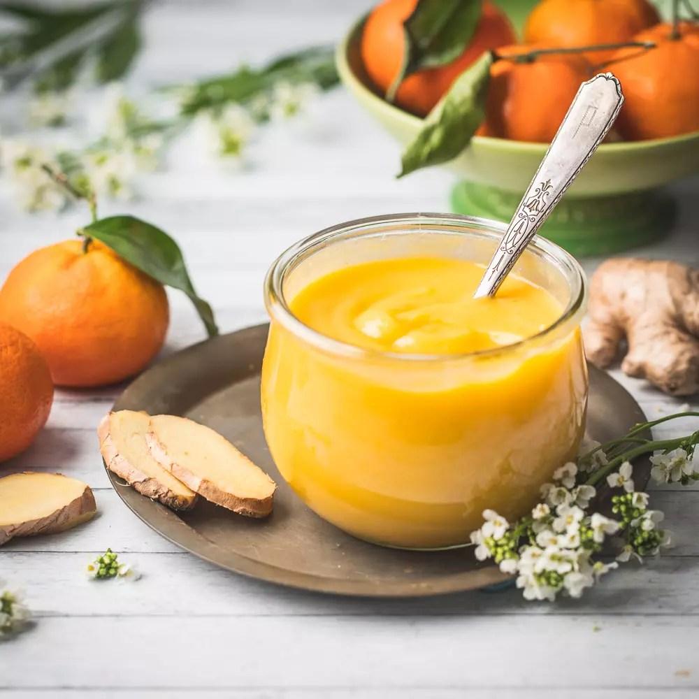 Orange-Ginger Curd