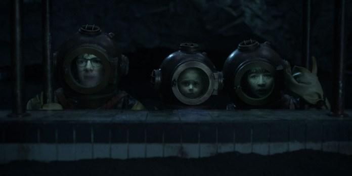 Os irmãos Baudelaire em aventuras submarinas