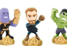 Bonecos dos Vingadores