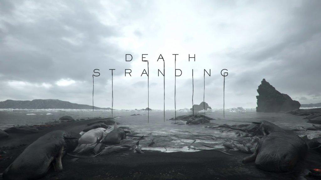 Death Stranding Letras Sangrando