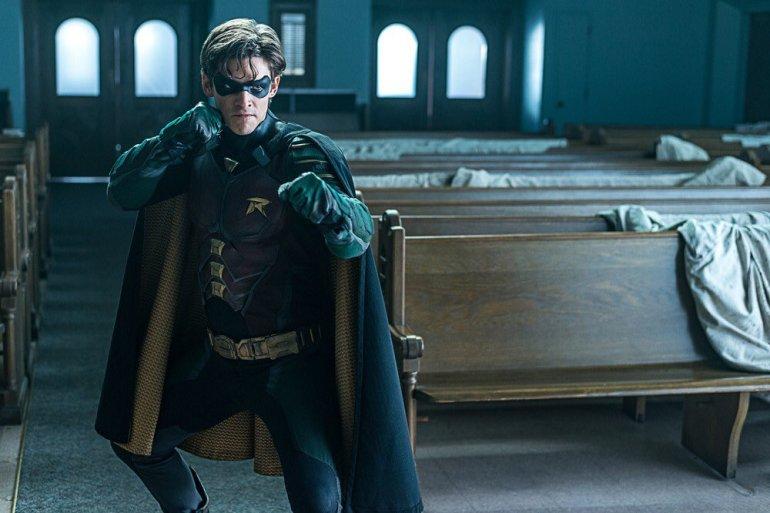 Robin enfrenta o Exterminador
