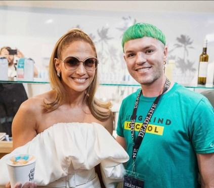 Jennifer Lopez credito instagram @baristabrian