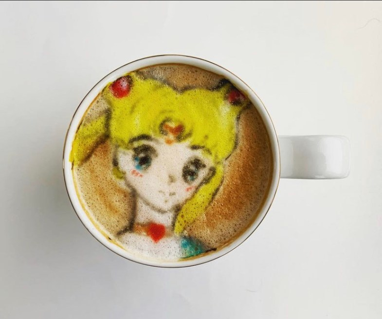 Sailor Moon- credito instagram @baristabrian