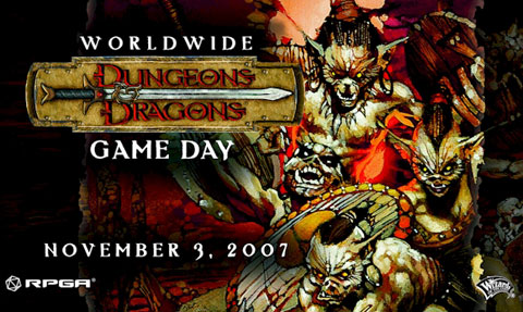 Worldwide D&D Game Day flyer