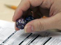 Dungeons and Dragons dice (Associated Press photo)