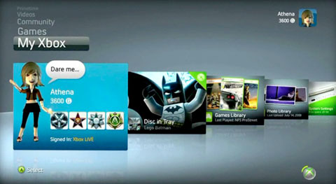xbox live marketplace, New Xbox Experience, new features coming to Xbox LIVE
