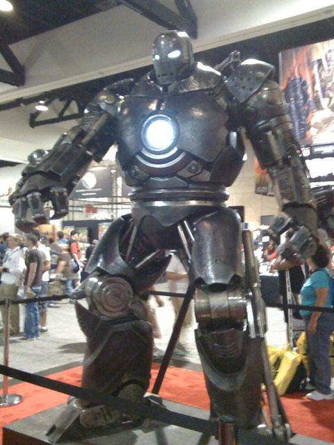 San Diego Comic Con 2008, Iron Man movie, Iron Monger