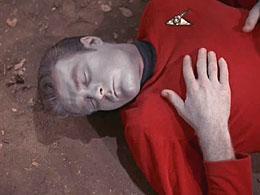 Star Trek red uniform redshirt security officer Paramount CBS