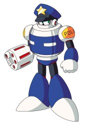 Mega Man 9 Fake Man Capcom