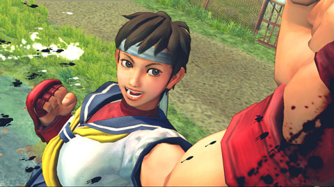 Sakura-chan from Capcom's Street Fighter IV