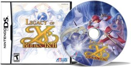 Legacy of Ys for Nintendo DS from Atlus