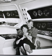 Gene and Majel Roddenberry