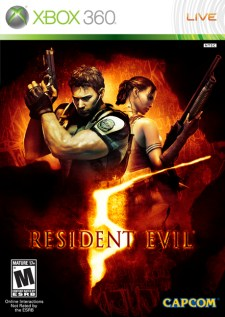 Xbox 360 Resident Evil 5 from Capcom