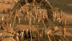Giza Plateau in Egypt Stargate