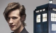Matt Smith TARDIS Doctor Who BBC
