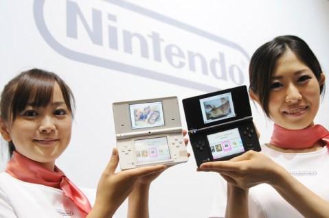 Nintendo DSi, camera, SD memory card, Japan, handheld gaming