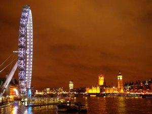 London Eye, River Thames, Big Ben and Parliament