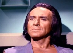 Ricardo Montalban in Star Trek