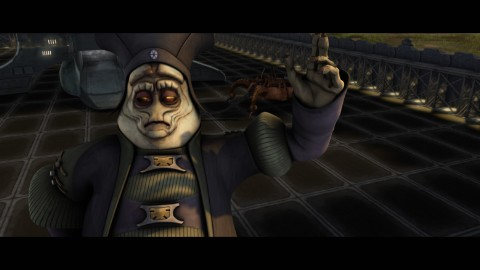 SEPARATIST GENERAL LOK DURD MAKES TROUBLE FOR THE JEDI