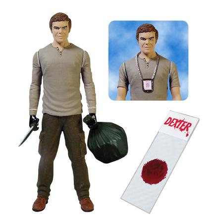 Dexter Michael C. Hall Showtime action figure blood