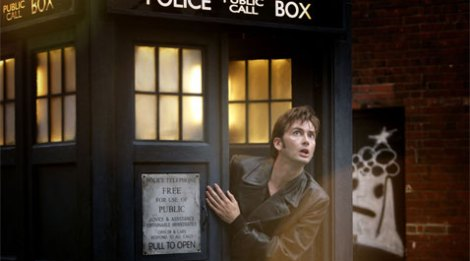 David Tennant as the Doctor in Doctor Who