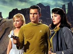Vina, Capt. Pike and Number One